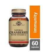 Solgar Natural Cranberry with Vitamin C Vegicaps 60
