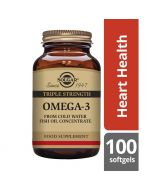 Solgar Omega-3 Triple Strength Softgels 100