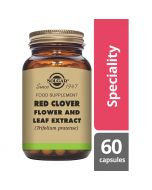 Solgar Red Clover & Leaf Extract Vegicaps 60