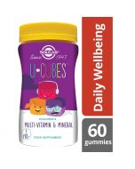 Solgar U-Cubes Children's Multi-Vitamin and Mineral Gummies 60