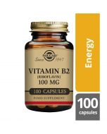 Solgar Vitamin B2 100mg Vegicaps 100