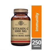Solgar Vitamin C 1000mg with Rose Hips tablets 250
