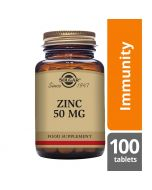 Solgar Zinc 50mg Tablets 100