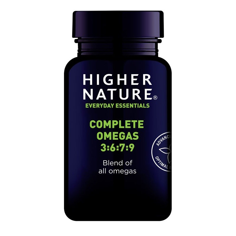 Higher Nature Complete Omega 3 6 7 9 Capsules 90 Landys Chemist