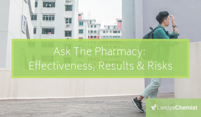 Ask The Pharmacy: Effectiveness, Results & Risks (Part 4 Of Hair Care & Hair Supplements Series)