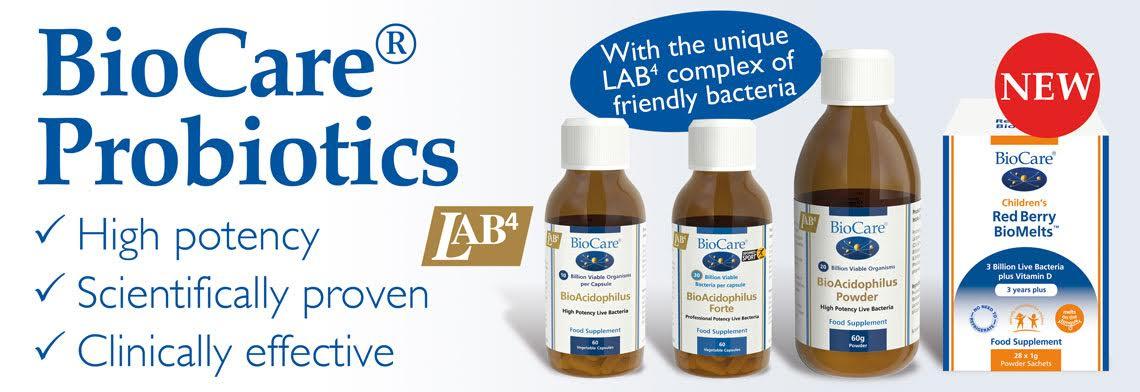 Biocare-BioAcidophilus-Probiotics