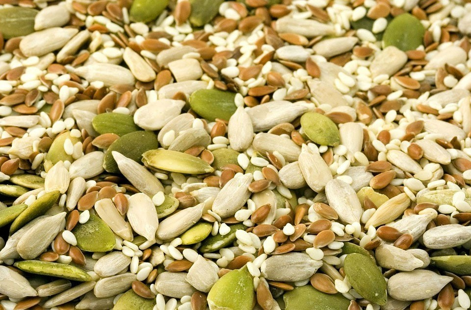 Nuts are a source of magnesium and calcium