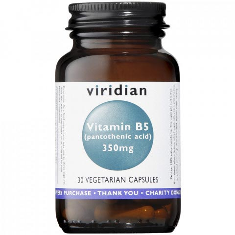 Viridian Vitamin B5 Supplement